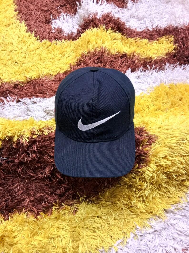 bb3f5c19ad6 Vintage Nike Cap Hat One Size Fits AllNike Sports Team Cap