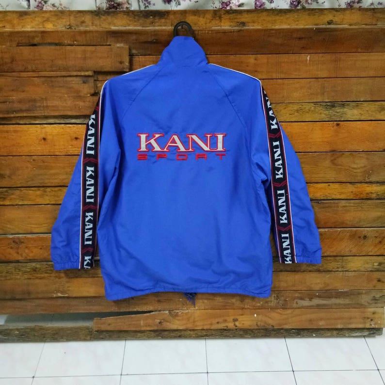 6af19a04e2 Vintage Kani Sport Embroidered Spell Out Windbreaker Jacket