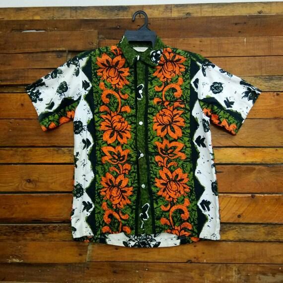 Vintage 50s Tropicana Hawaii Shirt, Fit M, Hawaiia