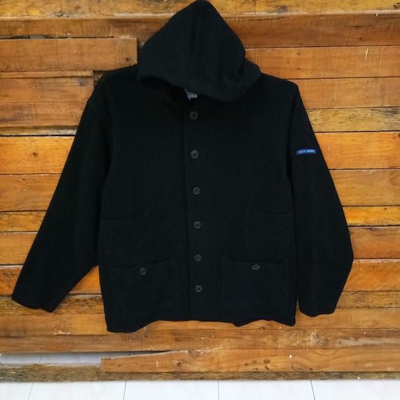 Rare Vintage Reyn Spooner Wool Jacket With Hoodie,