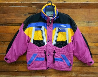 Rare Vintage Tyrolia Ski Jacket, Size L/XL,Snow Jacket, TYROLIA Snow Gear