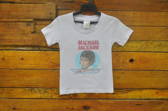 Rare Vintage Michael Jackson Thriller Album Kid T