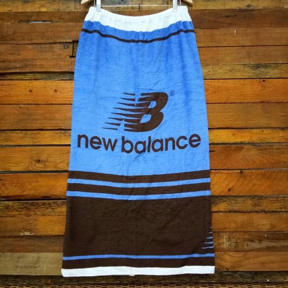 Rare Vintage New Balance Bath Towel Skirt