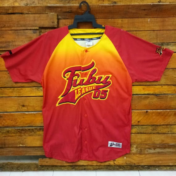 Rare Vintage FUBU Baseball Jersey Fits XL Fubu Jersey Hip   Etsy