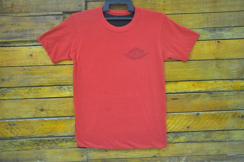 fd5fac0a524810 Rare Vintage 80s Nike Air Jordan Revesible Red And Black