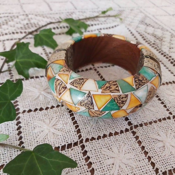 Vintage 70s Bangle ~ Made in India