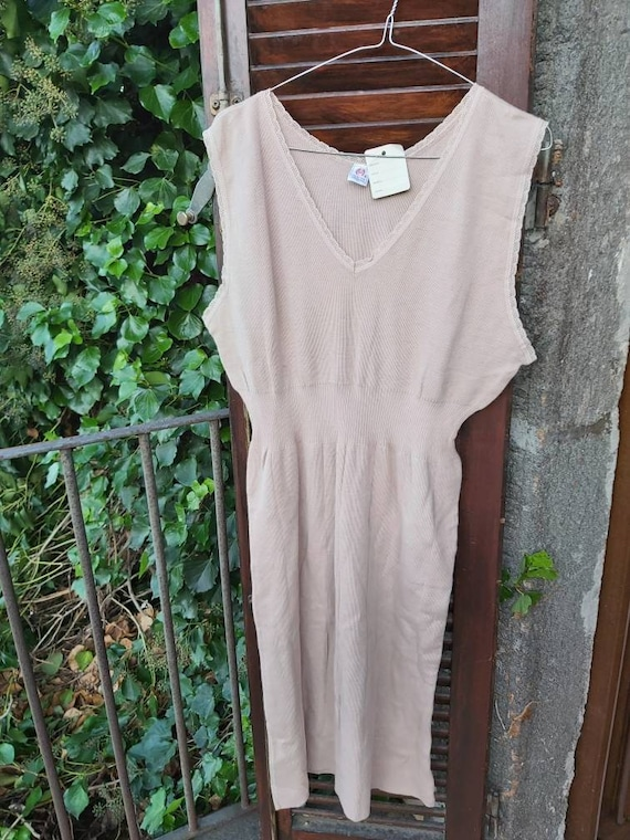 Vintage 70s Wool Dress ~ Made in Italy