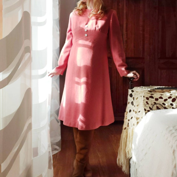 Vintage 60s/70s Dress ~ Made in Italy ~ New from Dead Stock