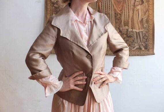 Max Mara Silk Blazer ~Made in Italy