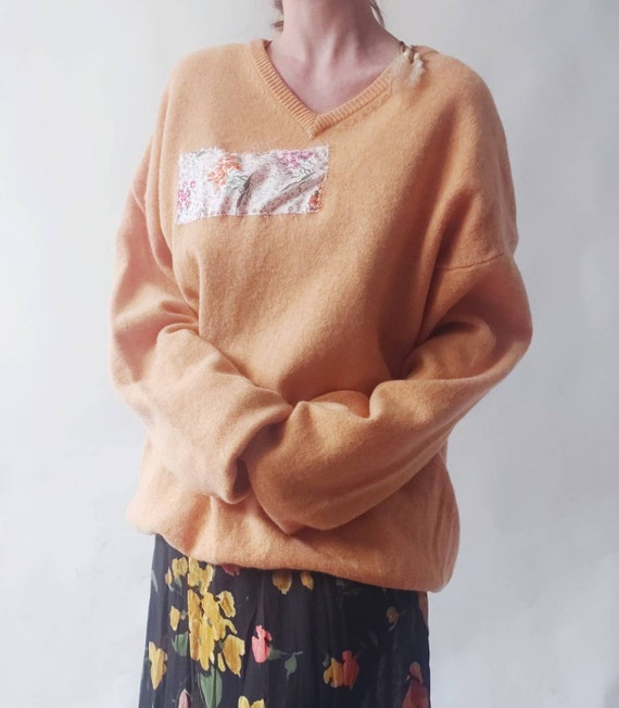 Tangerine Vintage Sweater in Pure Wool