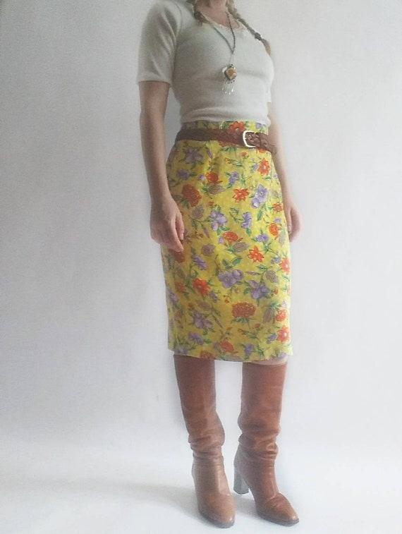 Vintage Silk Skirt ~ by Michael Sturm
