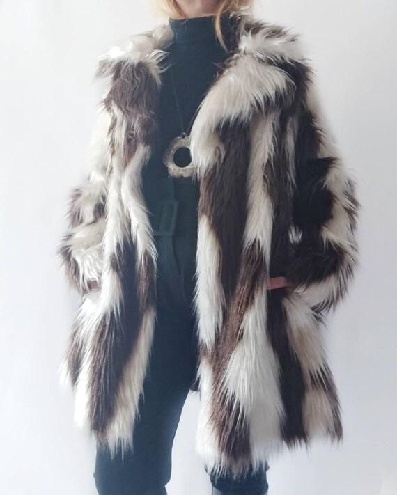 Vintage 70s Ecologic Fur ~ Made in Paris
