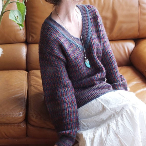 Ted Lapidus Vintage Sweater ~ Made in Paris