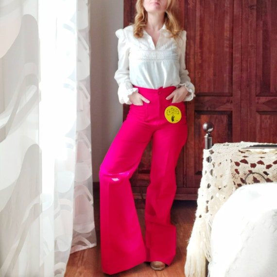 Vintage 70s Bell Trousers ~ from Dead Stock ~ Made in Italy