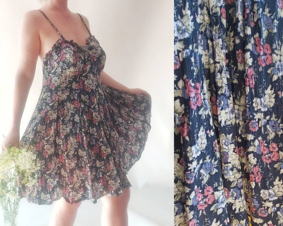 Vintage 90s Slip Dress by Valentino ~ Made in Italy