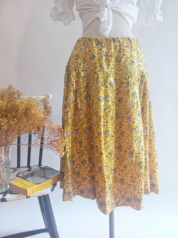 Vintage 60s/70s Silk Skirt ~ Italian Couture by Vitigliano Pancaldi ~ Made in Italy