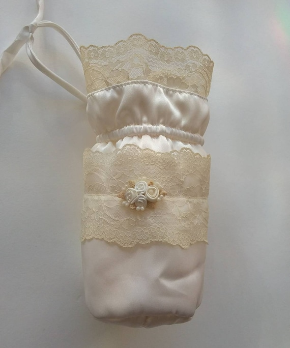 Vintage 40s/50s Silk Bridal Purse ~ Bohemian Wedding