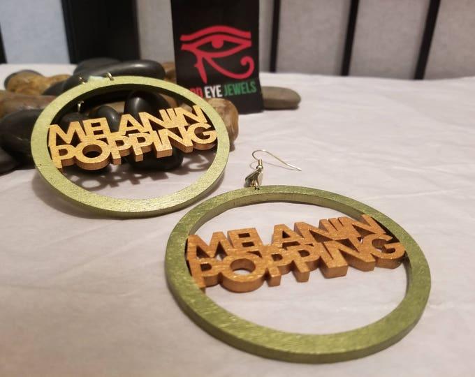 Melanin Popping Hoop Earrings
