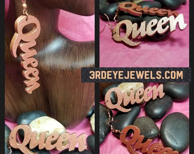 Queen Earrings
