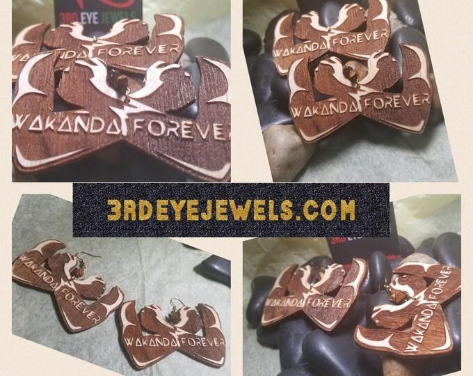 Wakanda Forever Earrings 2 color options