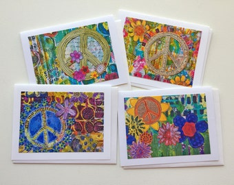 Patience Card Truth Card Blank Greeting Peace Card Eternity Card Art Blank Card Enlightenment Card Truth Greeting Blank Note Card
