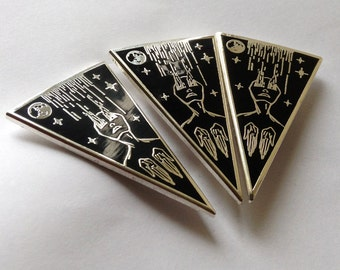 Hard Enamel Pin - Successful Ritual - 40 MM/1.5 inches - Original Illustration