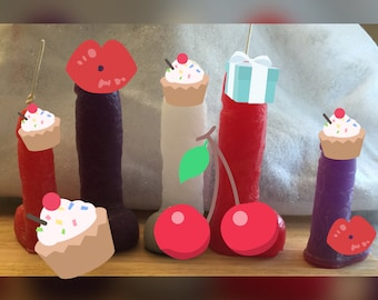 40 DICK candles - penis candles - 2 sizes novelty candle