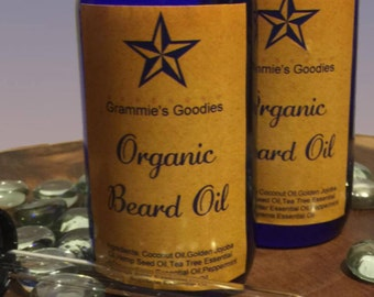 Mens Beard & Skin Oil