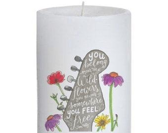 Petty Pillar Candle
