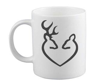 Infinity Love Deer Mug