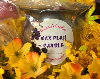 Adult Novelty Gift Basket - wax play candle - bdsm - sex toy - adult novelty gift - romance gift - wax play