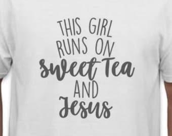 Sweet Tea & Jesus Tee