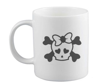Skull Love Mug