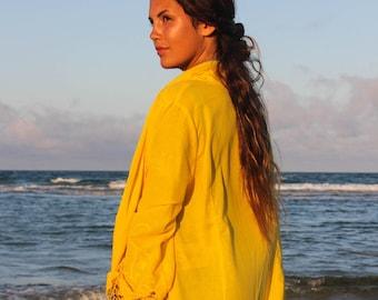 Sea Spirit Short Kimono