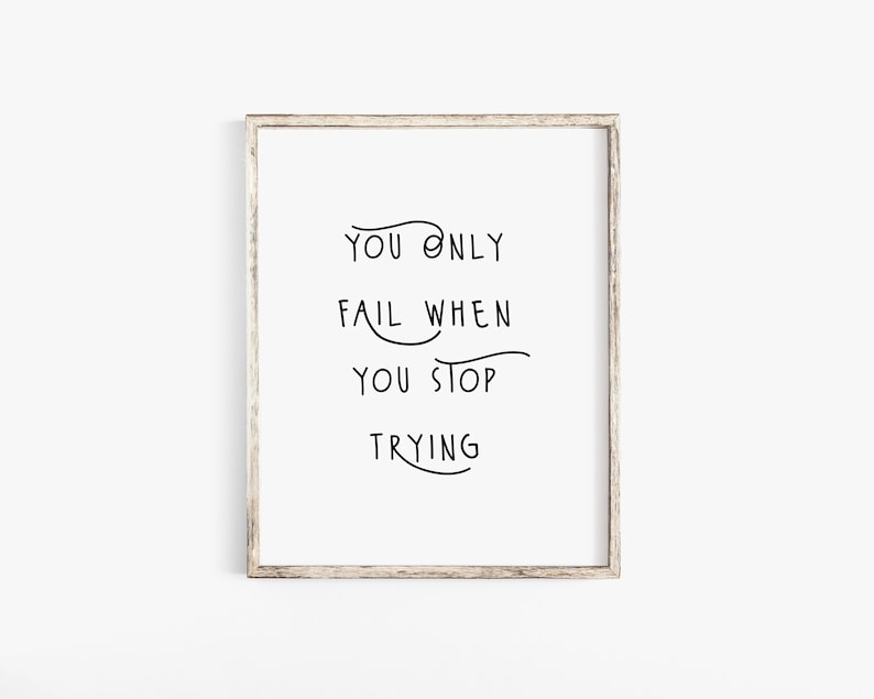 Motivational Inspirational Quote Poster Print Wall Art What/'s Stopping You