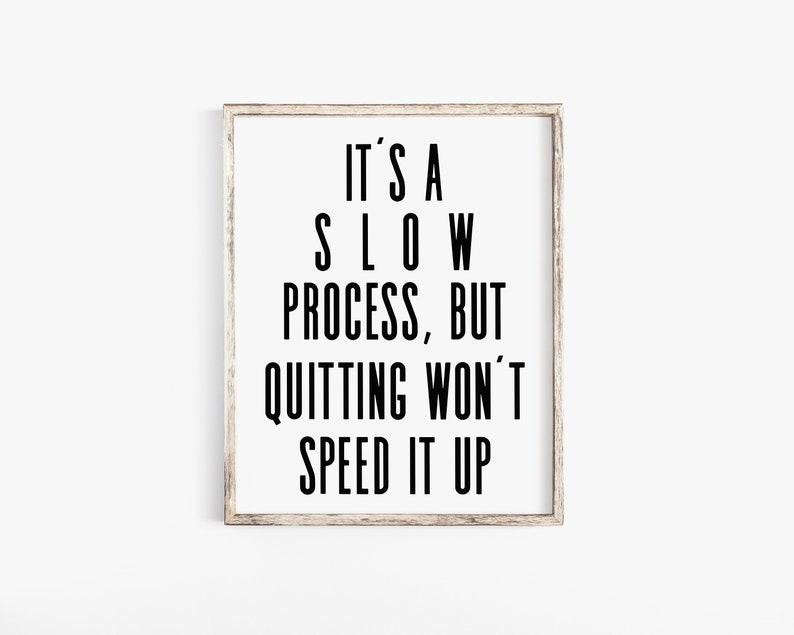 Fitness Motivation Motivational Quote Gym Decor Printable image 0