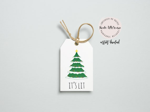 it s lit printable gift tags set of 6 instant download etsy