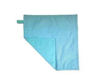 child's napkin double with polka dots. Gift for children.