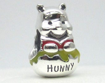 075c3bbb0 Pandora, Bracelet Charms, Beads / HONEY POT POOH Bear / New / s925 Sterling  Silver / Threaded / Fully Stamped
