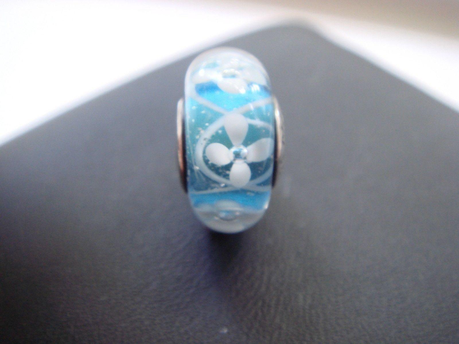 Pandora bracelet charms blue bloom field of flowers glass bead pandora bracelet charms blue bloom field of flowers glass bead new threaded s925 sterling silver fully stamped izmirmasajfo