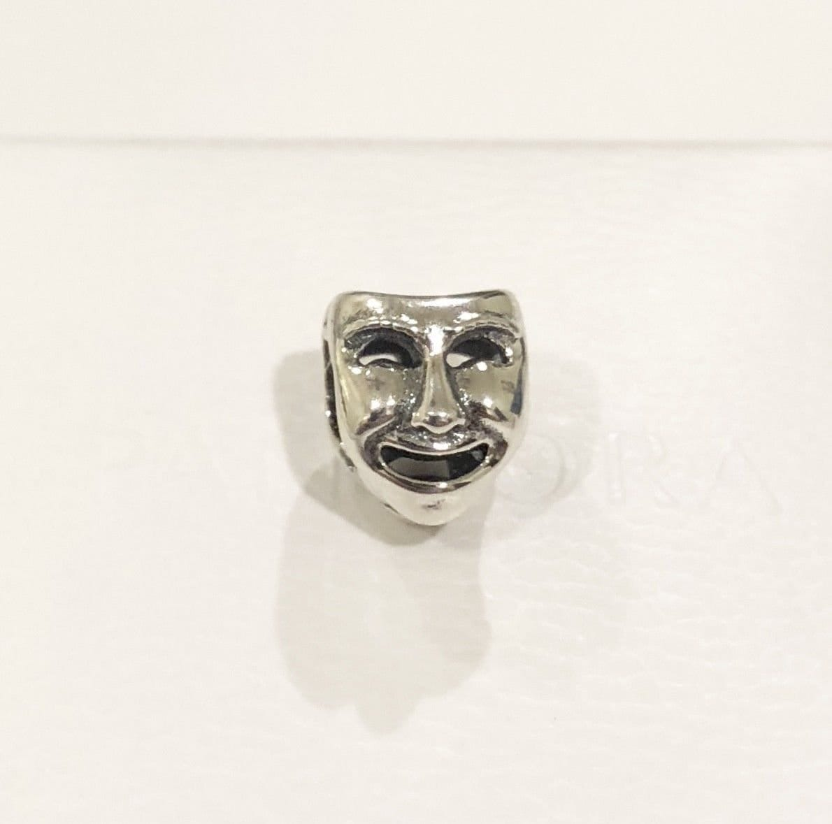 101c1a7f0 Pandora, Bracelet Charms, / THE WORLD'S A STAGE, Theatre Mask, Opera, Bead  / New / s925 Sterling Silver / Fully Stamped