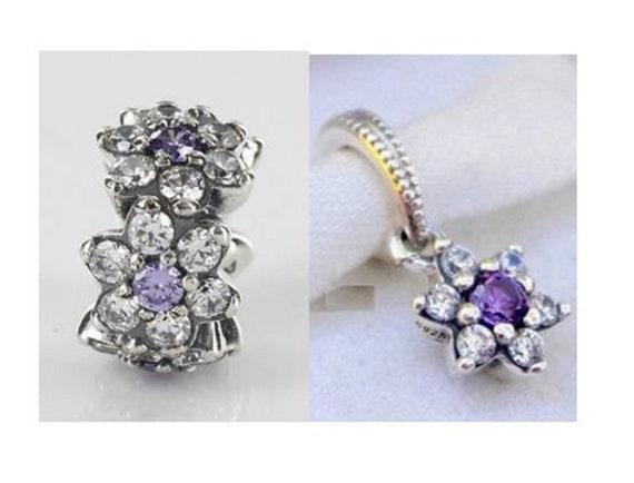 pandora charms violet