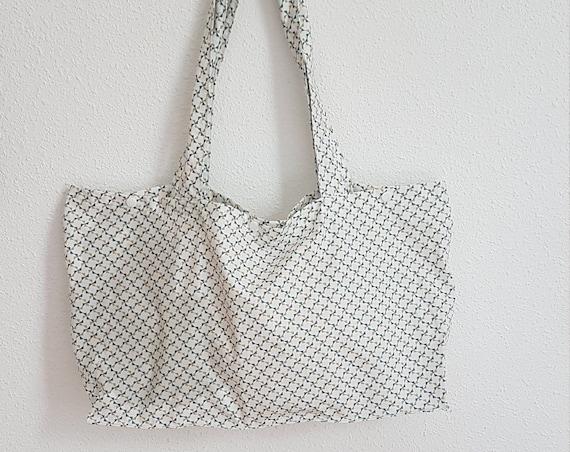 shopping bag / Tote, cotton / zero waste