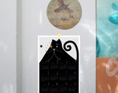 2016 Printable Calendar | A3 | Black Cat