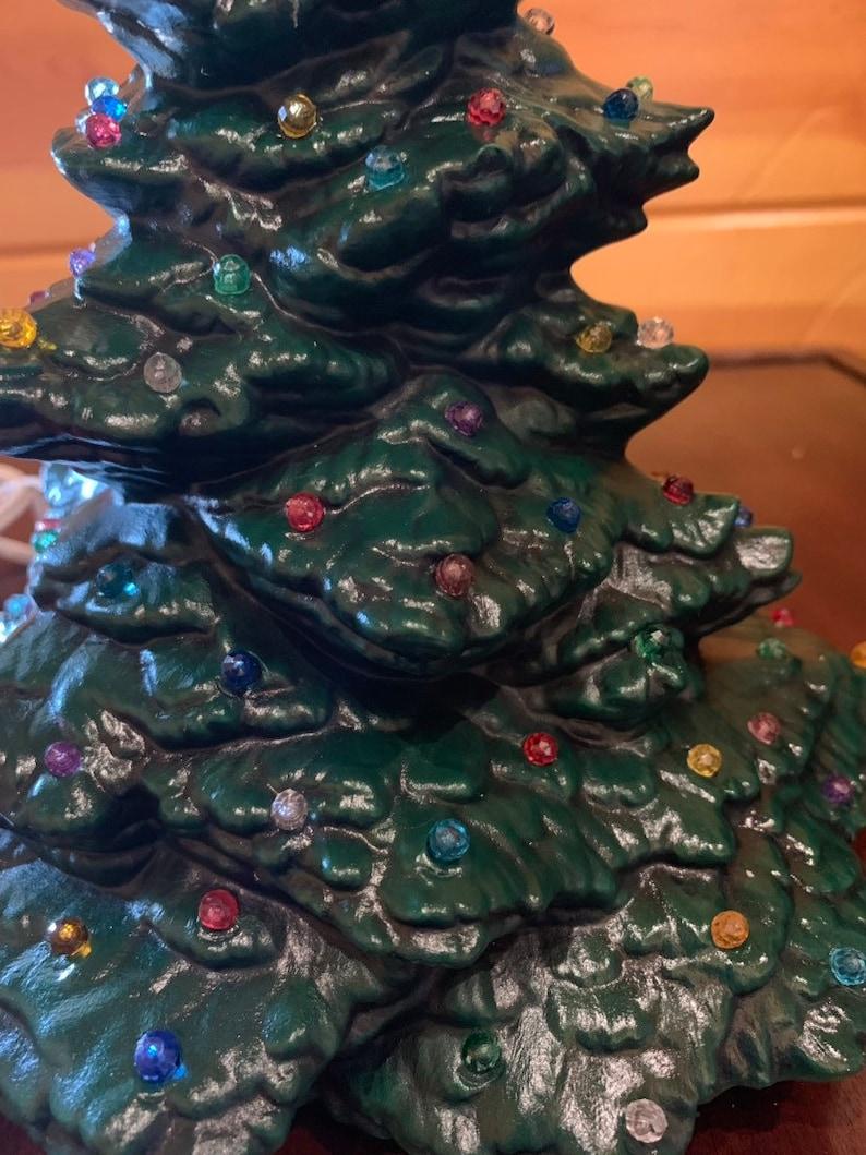 Medium Mantle Ceramic Christmas Tree