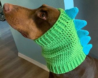 scarf animal lover Dog cowl scarflette