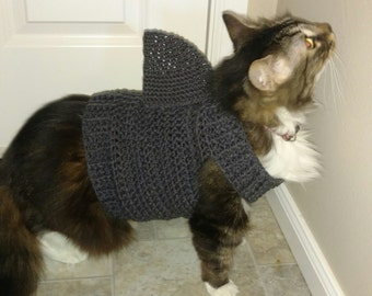 Cat Sweater Pattern Cat Clothes Pattern Crochet Pattern Pet Etsy