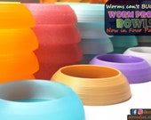 Stroodies Four-Pack Worm-Proof Bowl for Geckos