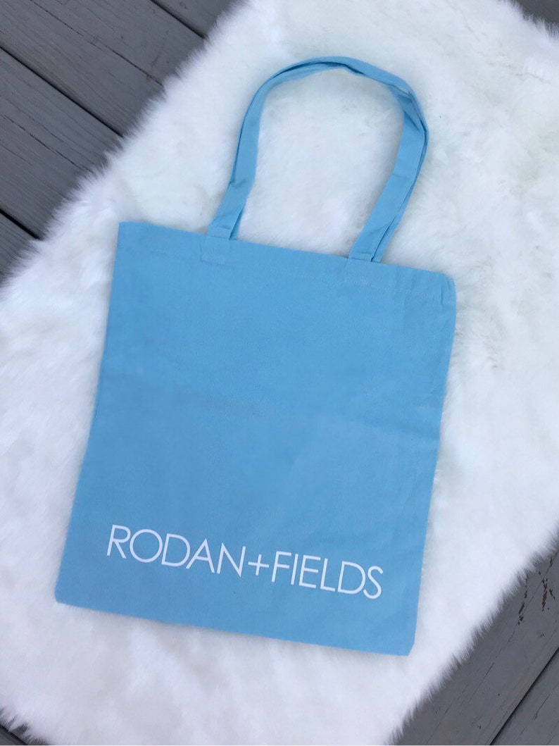 a0e64569a068a Rodan and Fields Canvas Tote Bag Reusable Grocery Bag Team Gift Business  Gift Consultant Gift Beach Bag * Ready to Ship *
