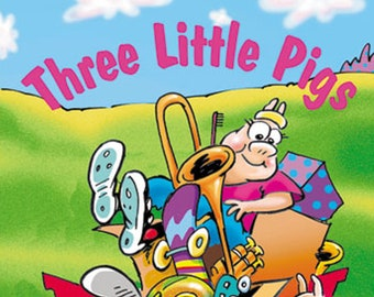 Personalized Book - Three Little Pigs